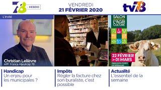 7/8 L'Hebdo. Edition du vendredi 21 février 2020