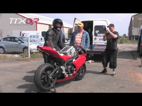 TTXGP -  Agni X01 electric Motorcycle - Isle of Man TT