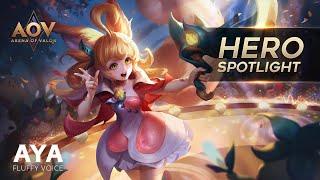 Aya Hero Spotlight - Garena AOV (Arena of Valor)