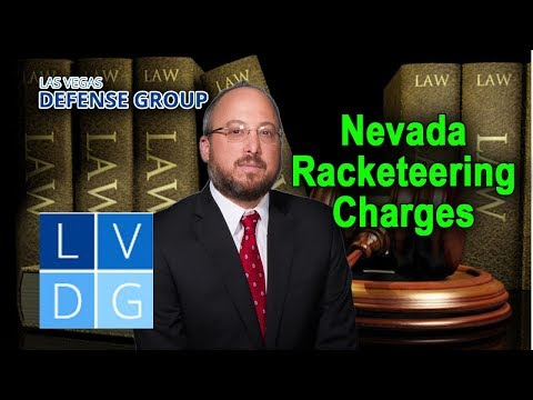 "Is ""racketeering"" a state crime in Nevada?"