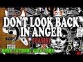 Oasis - Dont Look Back In Anger - BASS Tutorial [With Tabs] - Play Along