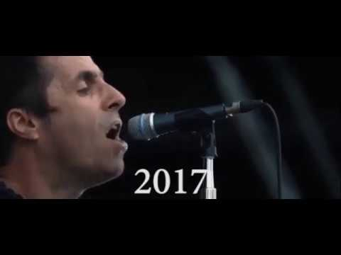Oasis - Slide Away 1994-2017 (Liam Gallagher Voice Evolution and Change)