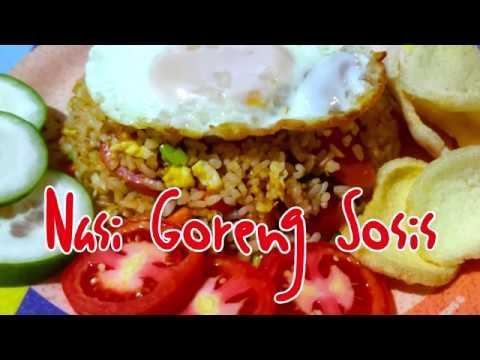 Cara Memasak Nasi Goreng Sosis Yang Mudah, Cepat dan Enak - YouTube