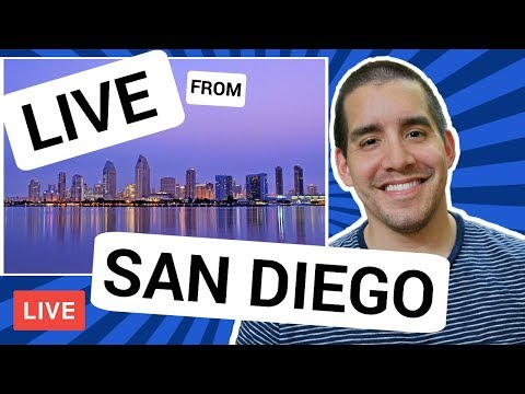 🔴LIVE: Moving To San Diego | Entering New Markets | What To Expect & How To Prepare (1/2)