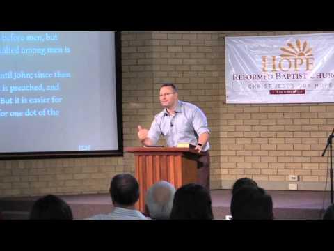 Law - Kingdom - Gospel  ~ Luke 16:14-18