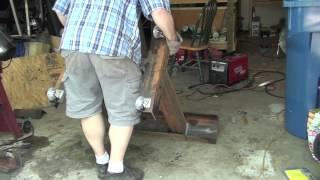 Lathe Bench Build - Construction Part 1