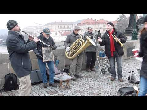 Lou Ann is out and about on The Charles Bridge in Prague.