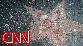 Trump's Hollywood star destroyed by : CNN