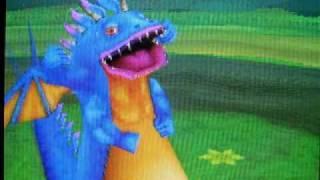 Blue Dragon Awakened Shadow- VS Komodo Dragon