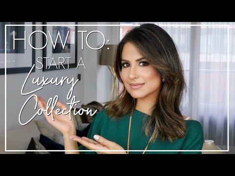 HOW TO START A LUXURY COLLECTION | Luxury Fashion Collection | JASMINA PURI