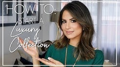 HOW TO START A LUXURY COLLECTION | Luxury Fashion Collection | JASMINA PURI