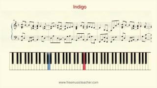 "How To Play Piano Yiruma ""Indigo"" Piano Tutorial by Ramin Yousefi"