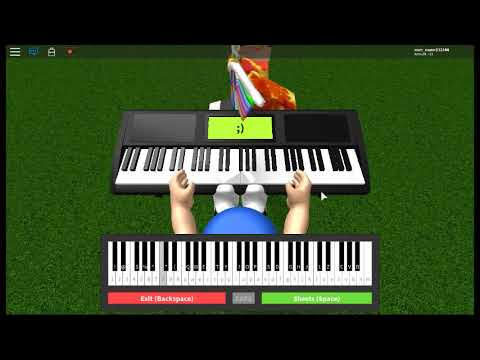 How To Play Sonic Green Hill Zone On Roblox Piano Youtube