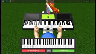 How to play sonic Green Hill Zone on roblox piano!