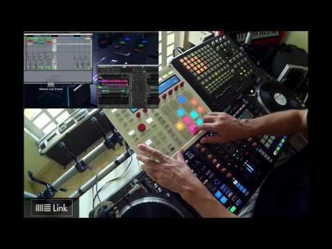 Traktor 2.11 Beta & Ableton LINK - Demo By Fernando Midi