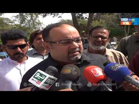 KHI KHUWAJA IZHAR SOTS  - Package - Sindh TV News
