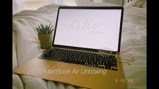 MacBook Air 2020 Unboxing & Setup