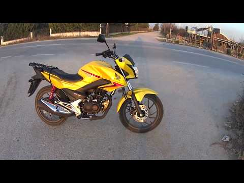 Top Speed HONDA CB125F