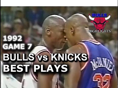 May 17 1992 Bulls vs Knicks game 7 highlights