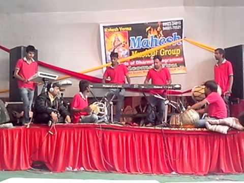 jagran live Mahesh musical group.in sirsa hariyana