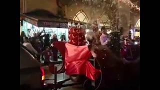 Christmas parade in Jaffa, Israel