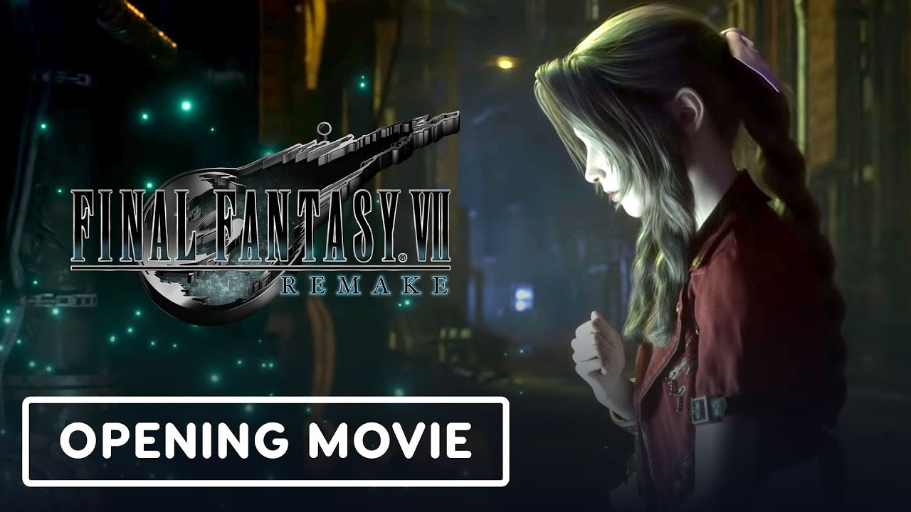 Final Fantasy 7 Remake - Eröffnungsfilm + video