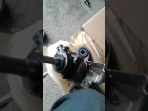 работа рулевой рейки мазда 6 gh