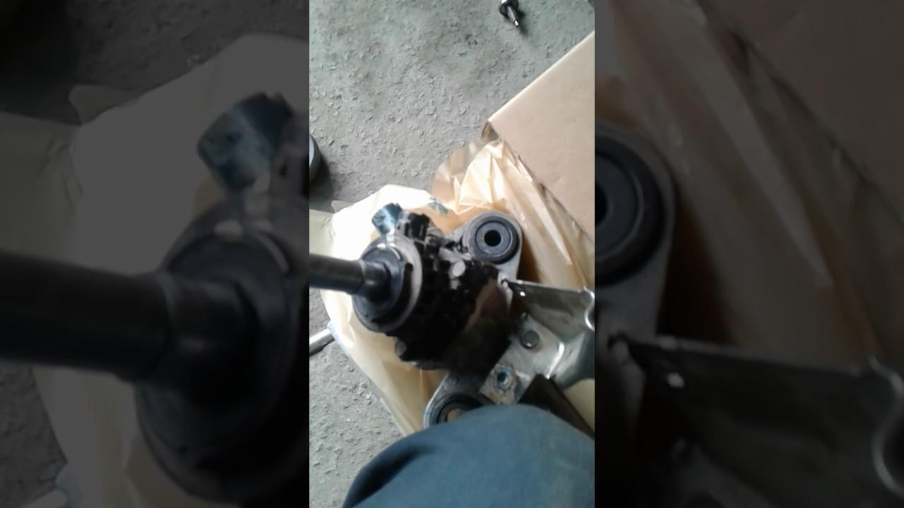 Стук рулевой рейки Мазда 6 GH пробег 70000. - YouTube