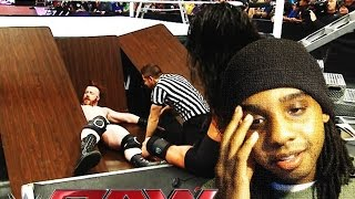 Roman Reigns & Sheamus Confrontation LIVE REACTIONS :: WWE RAW 12/7/15 (Worst Ending Segment?)