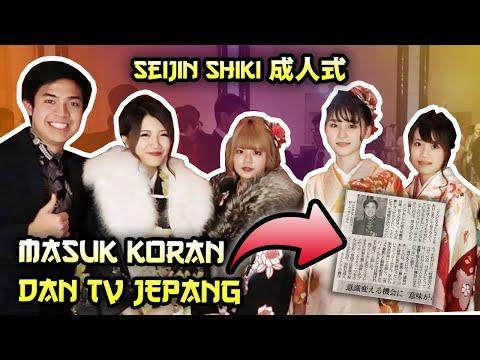 WOW MASUK KORAN & TV JEPANG! - UPACARA KEDEWASAAN JEPANG 新宿成人式