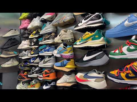 A visit to the NEW Chinese Fake shoe market - check out what we found!   IG @snidesb for pics.