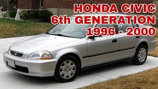 Honda Civic 1996 - 2000 detailed review | Auto Car Pk.