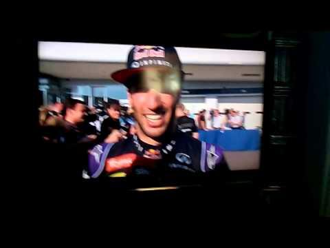Daniel Ricciardo Interview SKY Italia