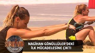 Nagihan Gönüllüler takımı adına parkurda... | 22.Bölüm | Survivor 2018