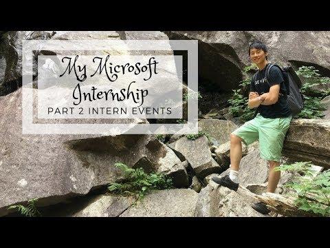 My Microsoft Internship. Part 2: Intern Events
