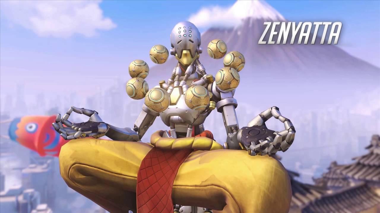 Overwatch Zenyatta Voice In Game Quotes Youtube