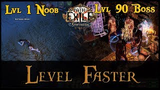 Path of Exile Fąst Leveling Tips! (5 Tips to Level Quick in POE)