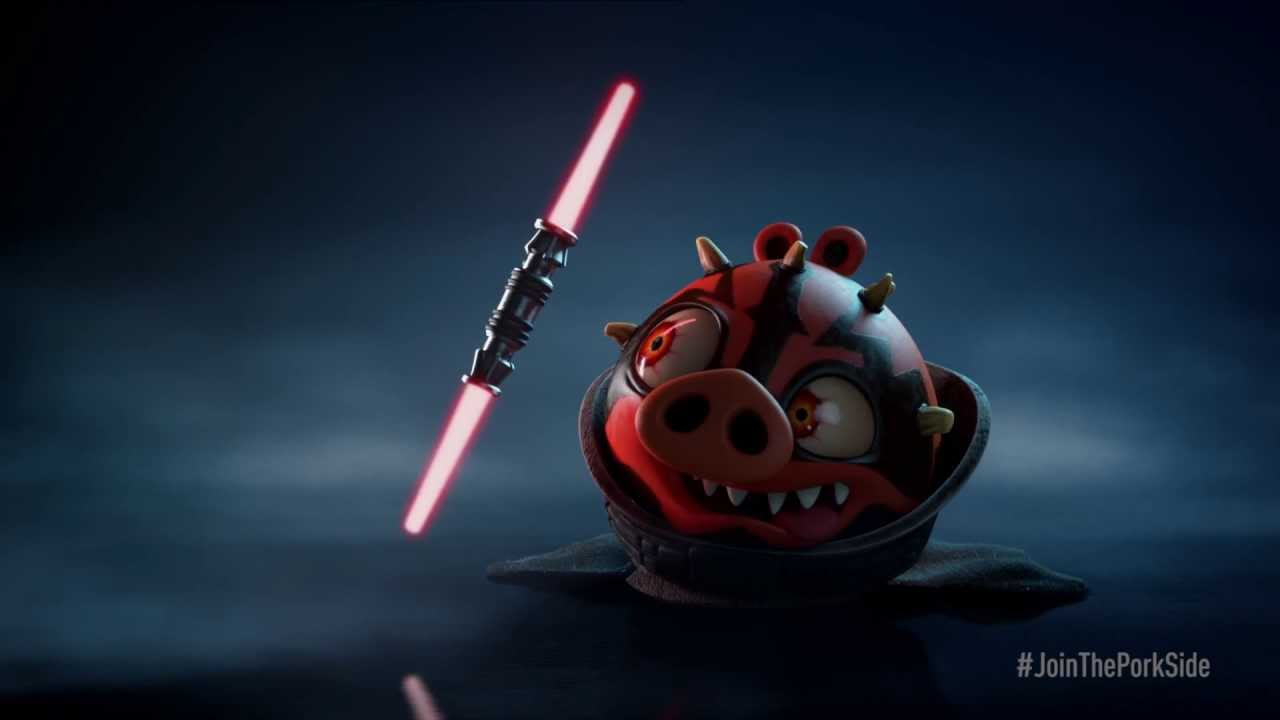 How To Make A Gif A Wallpaper On Iphone Angry Birds Star Wars Ii Darth Maul Teaser Trailer Youtube