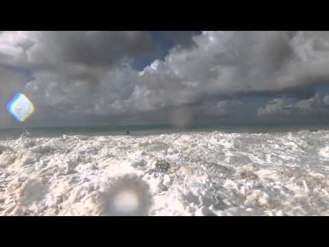 Meads Bay Anguilla unusually amazing waves