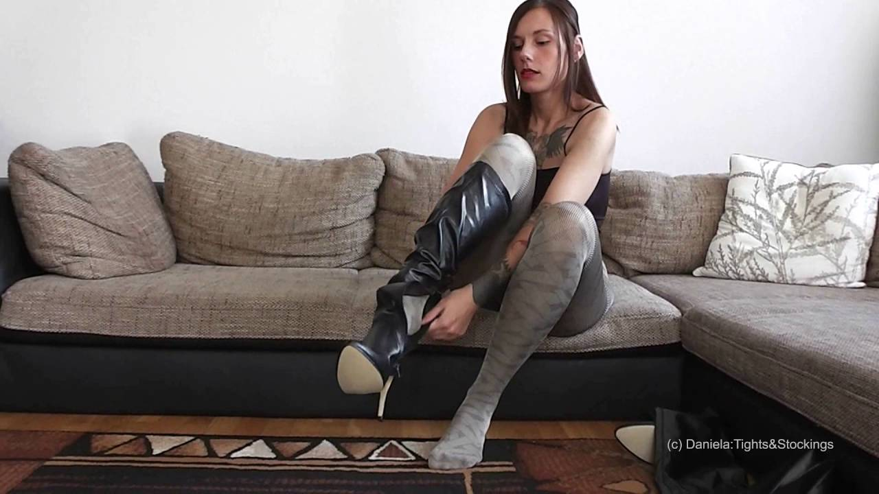 daniela tights stockings 003 strumpfhosen pumps. Black Bedroom Furniture Sets. Home Design Ideas