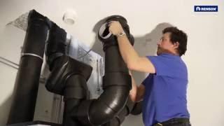 Installatie E+ ventilatiesysteem