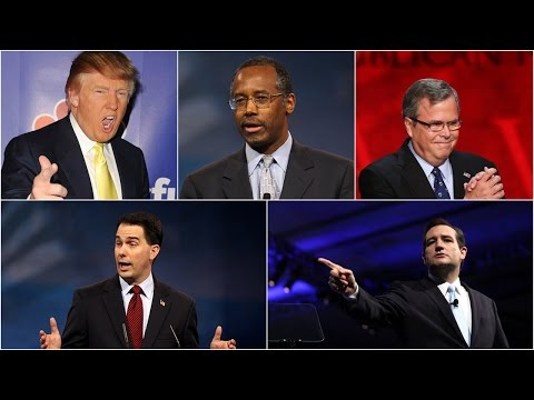 Spokesman Impressive In The Debates Of The US Republican Party ! Presidential Debate 2015 ! LIVE
