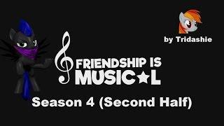 Night Rainbow Reacts: Friendship is Musical Season 4 Second Half