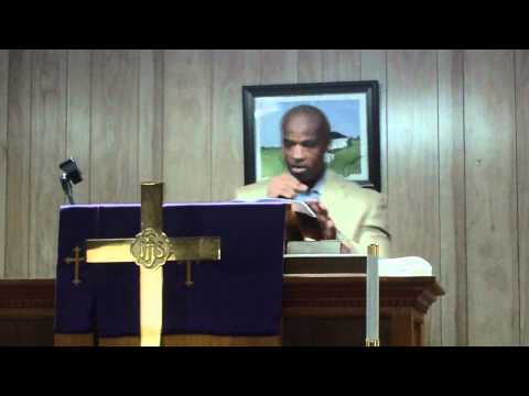 "Pastor Corey M. Lyons ""Im stronger than what I used to be""  New Beginnings MBC Chadbourn, NC"