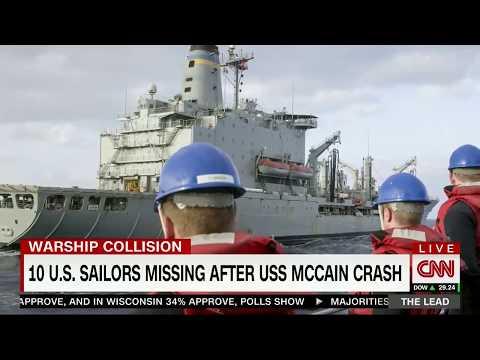Former Navy Secretary discusses the crash of USS McCain