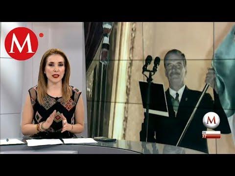 Fox critica el grito del presidente Andres Manuel López Obrador