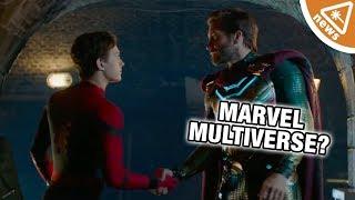 Is Spider-Man: Far From Home's Multiverse a Lie? (Nerdist News w/ Jessica Chobot)
