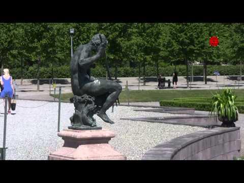 Drottningholms slottspark - Palace park in Drottningholm, Sweden