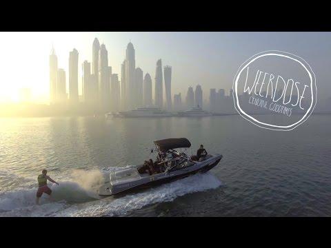 Dubai Marina Sunrise Surfing