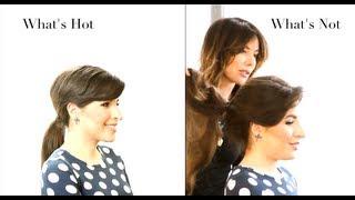 Zapętlaj Sexy Ponytail How To - Sally Hershberger & Jessica Harlow | Sally Hershberger Hair